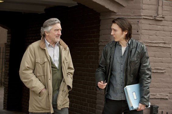 Robert De Niro and Paul Dano in  Being Flynn.