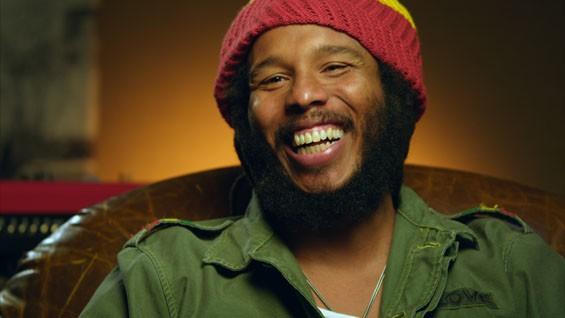 Ziggy Marley in Marley.