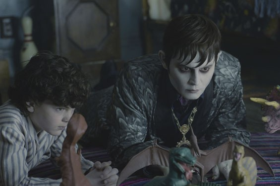 Gully McGrath and Johnny Depp shed some light on Dark Shadows.