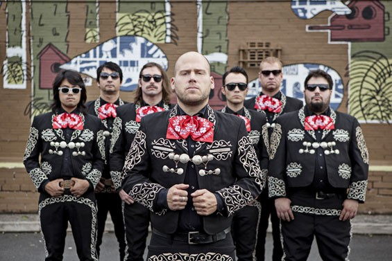 Mariachi El Bronx started as an alter-ego for punk band the Bronx.