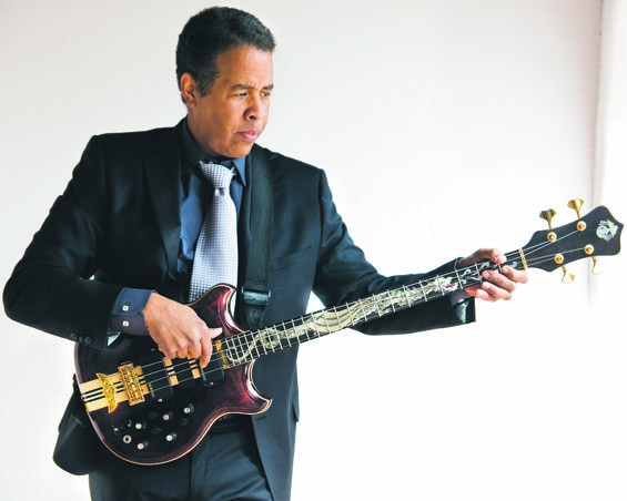 The Stanley Clarke Trio features up-and-comers Ronald Bruner Jr. and Ruslan Sirota.