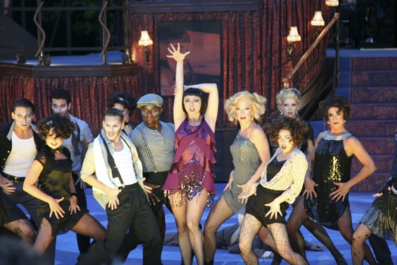 The Second City is tops with Natascia Diaz (center) as Velma Kelly.