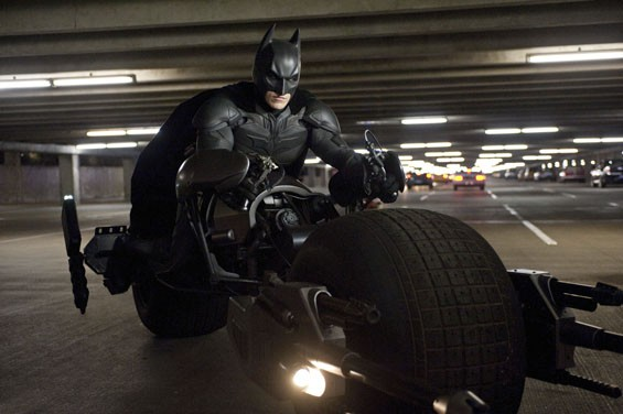 Christian Bale stars as Batman in the action-packed The Dark Knight Rises.