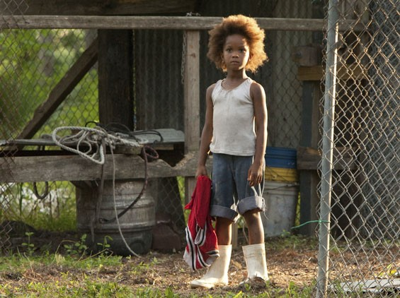 Quvenzhané Wallis stars as Hushpuppy in Beasts of the Southern Wild.