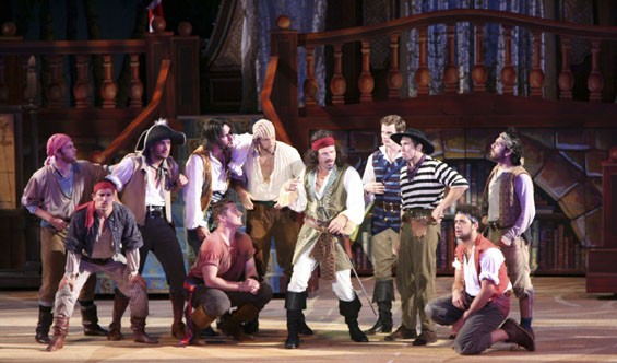 Pirates! blows onto the Muny stage and leaves some good booty in its wake.