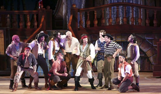 Pirates took to the Muny stage this summer