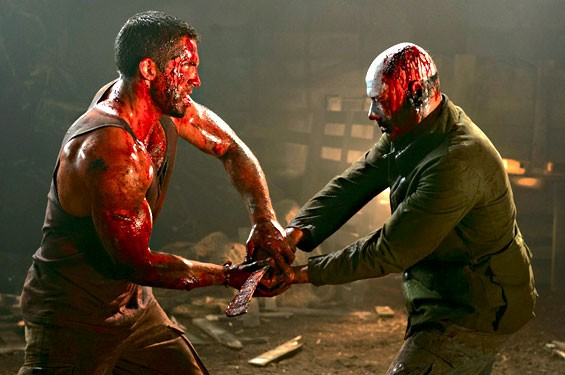 Seeing red in the fourth Universal Soldier.