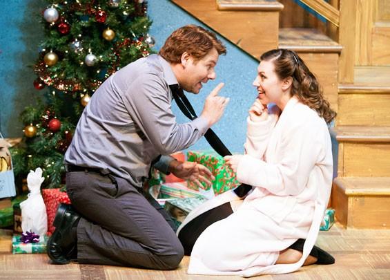 Season's Greetings, from St. Louis Actors' Studio, isn't full of silent nights.