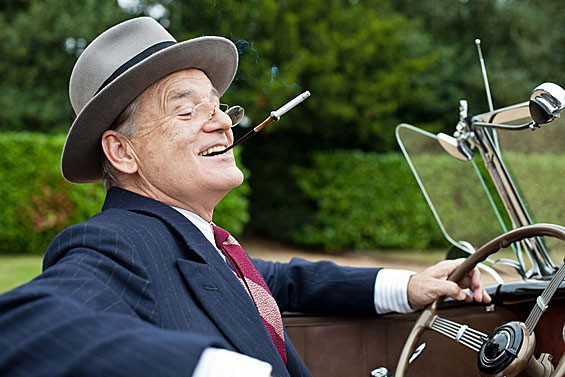 Bill Murray as FDR.