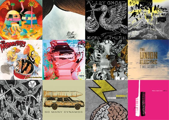 Slideshow: Album Art of the 50 Best St. Louis Records of 2012