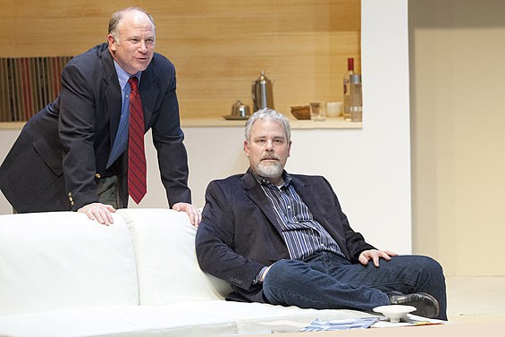 John Pierson and William Roth in The Goat, or Who Is Sylvia? at St. Louis Actors' Studio.