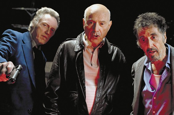 Christopher Walken, Alan Arkin and Al Pacino star in Stand Up Guys.