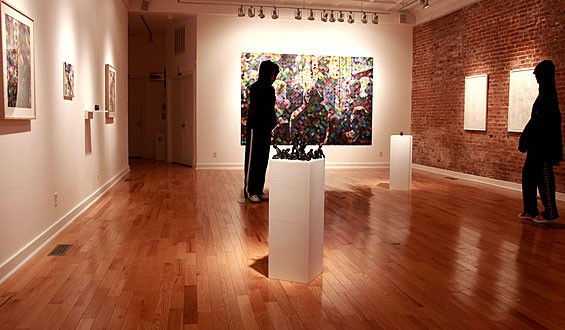 Dark Star installation view