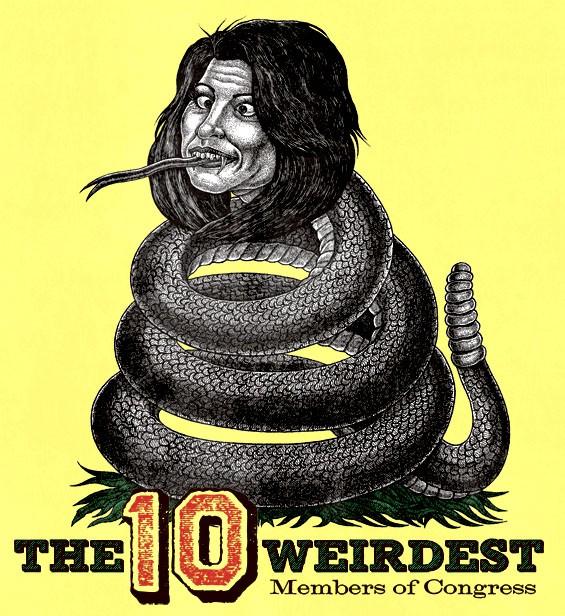 Slideshow: The 10 Weirdest Members of Congress