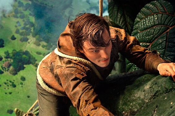 Actor Nicholas Hoult stars as Jack in Jack the Giant Slayer.