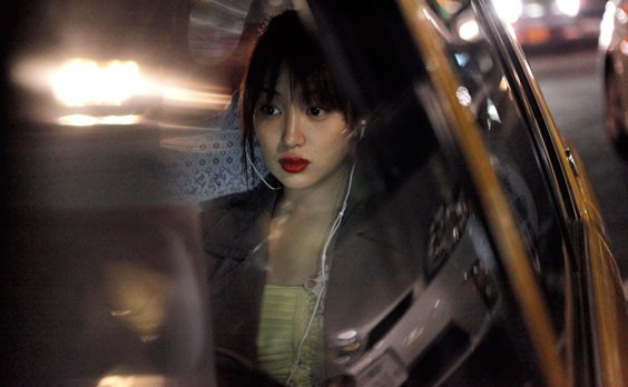 Akiko (Rin Takanashi) in Abbas Kiarostami's LIKE SOMEONE IN LOVE