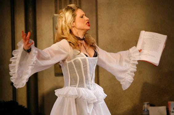 Sarah Nedwek as Venus in Fur's Vanda.