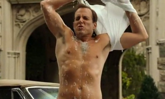 Will Arnett in Running Wilde.