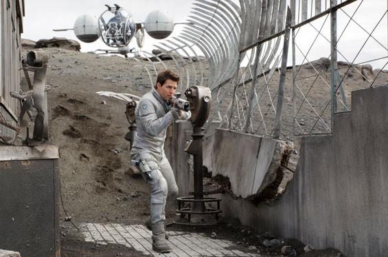 Tom Cruise as Tom Cruise...and Jack Harper.