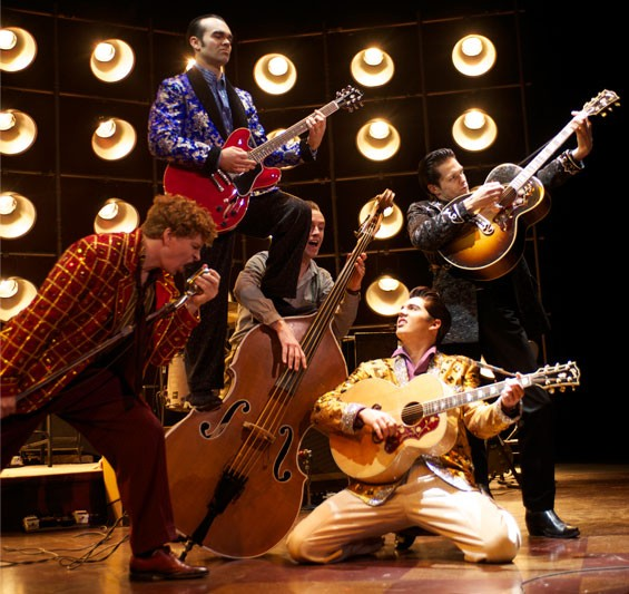 Million Dollar Quartet is a fine romp through a magical night — when the music's playing, that is.