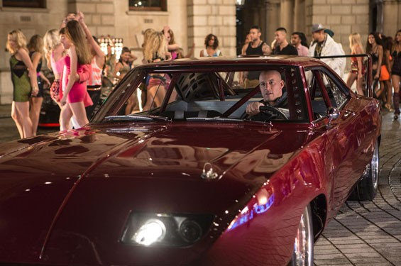 Vin Diesel knows what's up around the bend in Justin Lin's Fast & Furious 6.