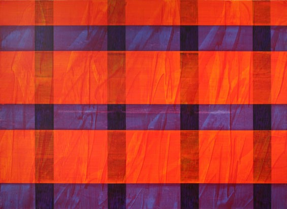 "Stephen Ellis, Untitled, 2007, oil and alkyd on linen, 38"" x 52"",  at The Philip Slein Gallery"