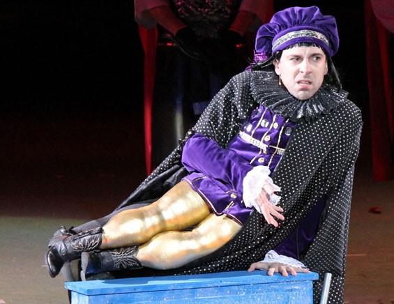 Rob McClure as Lord Farquaad.
