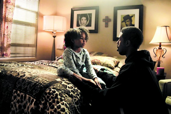 Ariana Neal and Michael B. Jordan in Fruitvale Station.