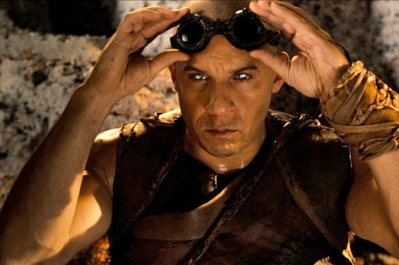 Vin Diesel stars as Riddick, in the follow-up to 2004's The Chronicles of Riddick.