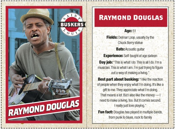 View all ten St. Louis Busker trading cards as a slideshow or Download a printable PDF.