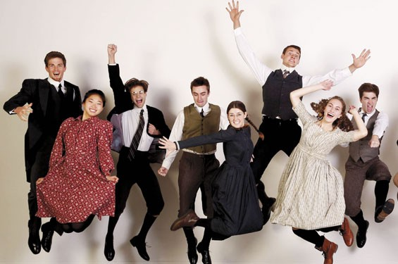 The cast of Spring Awakening.