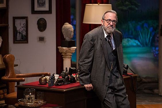 Barry Mulholland as Sigmund Freud in the Rep's Studio Theatre's Freud's Last Session.