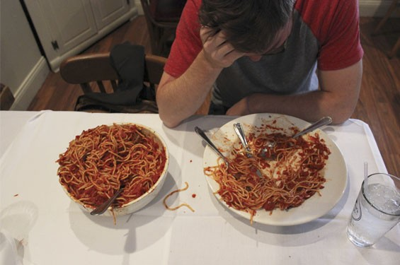 Mama's Pasta Challenge at Mama Campisi's