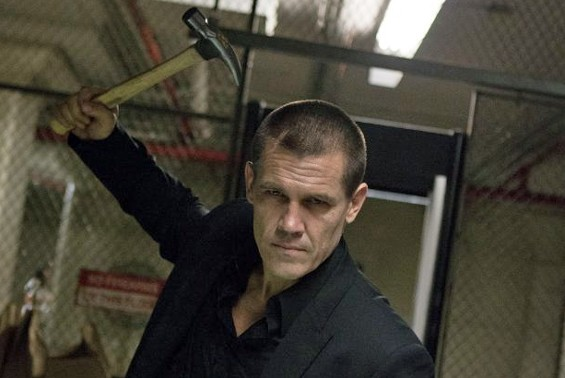 Josh Brolin in Oldboy.