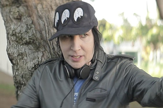 Still of Marilyn Manson in Wrong Cops: Chapter 1.