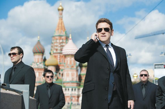 Kenneth Branagh directs and plays the bad guy in Jack Ryan: Shadow Recruit.