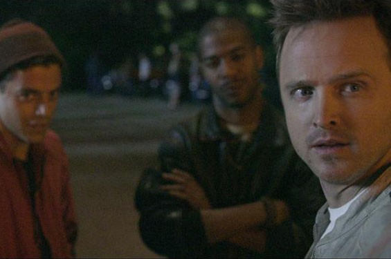 Still of Aaron Paul in Need for Speed.