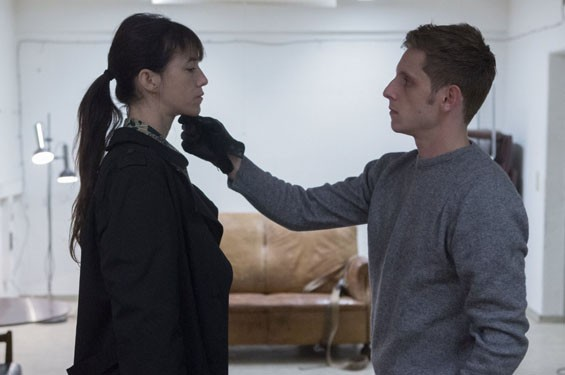 Charlotte Gainsbourg and Jamie Bell in Nymphomaniac: Vol. II.