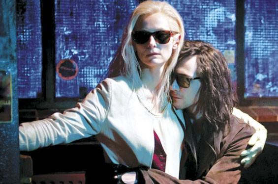 Tilda Swinton and Tom Hiddleston in Only Lovers Left Alive.