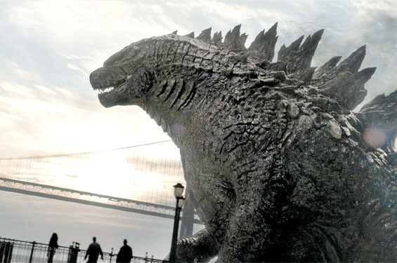 Godzilla: Eh, he's looked better.