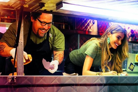 Jon Favreau and Sofía Vergara in Chef.