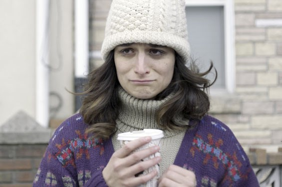 Jenny Slate says the A-word in Obvious Child.