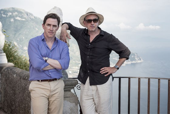 Bro-man holiday: Rob Brydon and Steve Coogan in The Trip to Italy.