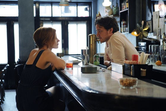 Jessica Chastain and James McAvoy star in The Disappearance OF Eleanor Rigby.