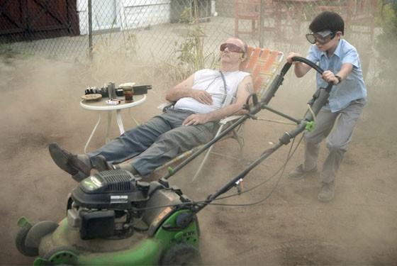 Weekend at Vinnie's: Bill Murray and Jaeden Lieberher star in St. Vincent.