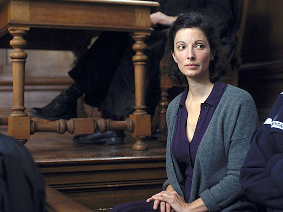 Stéphanie Cléau,  in The Blue Room.