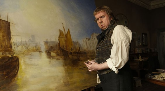 Timothy Spall in Mr. Turner.