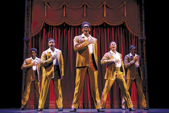 Motown the Musical features the music of the Temptations and more. - JOAN MARCUS