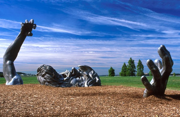 "At seventy feet long, ""The Awakening"" is Seward Johnson's largest sculpture. - WIKIMEDIA COMMONS"