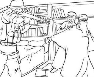 Coloring Book Teaches Kids Art of Killing Muslim Extremists | Arts ...